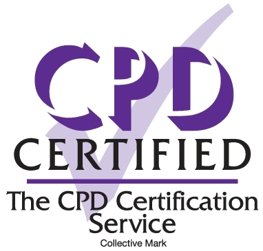 Certified logo CPD Certification Service
